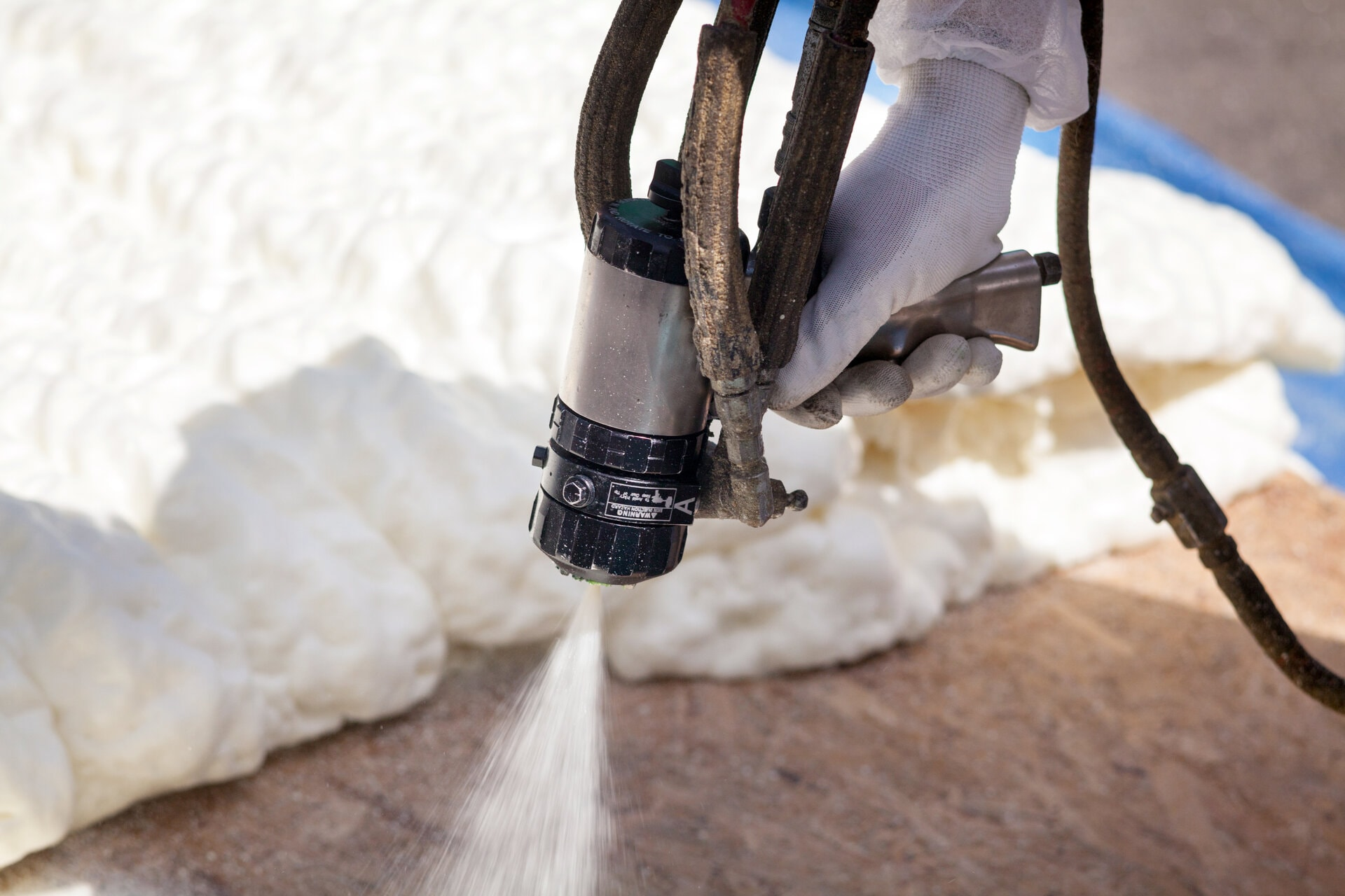 Spray foam contractor